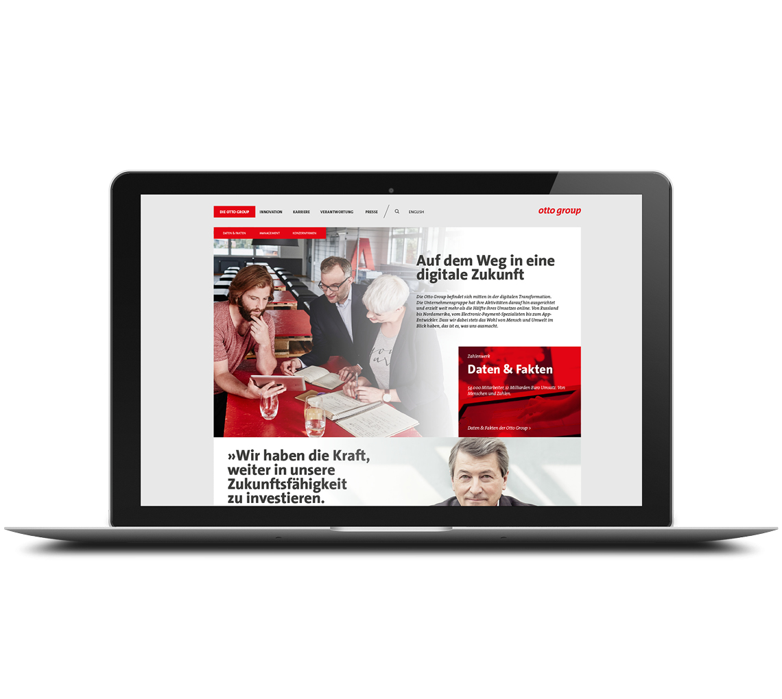 Otto Group Website